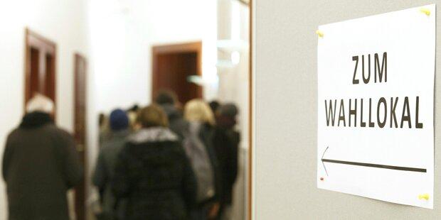Graz-Wahl: 10.000 nutzten vorgezogenen Wahltag