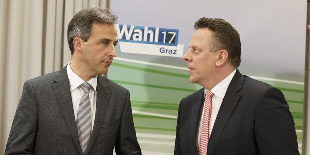 Graz-Wahl: Nach Briefwahlauszählung ist SPÖ ohne Regierungssitz