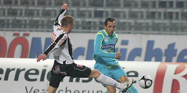 Sturm Graz feierte 2:1-Erfolg in Linz
