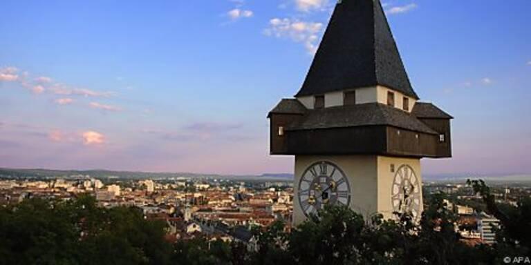 Grazer Uhrturm wird auch gewürdigt
