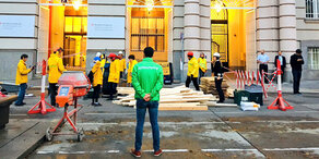 Greenpeace besetzt Umwelt-Ministerium