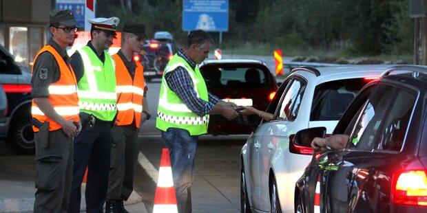 Polizei geht gegen illegale Migration vor