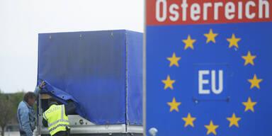Grenzkontrolle Nickelsdorf Schlepper