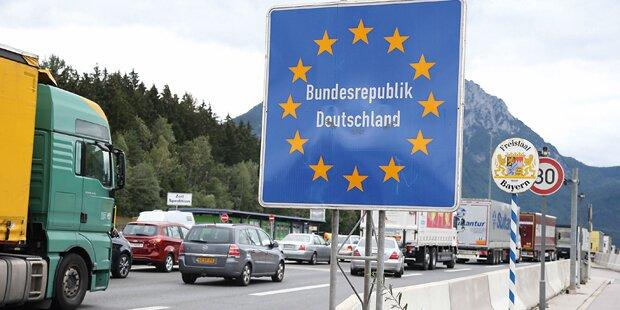 Mehr Polizei an allen deutschen Grenzen