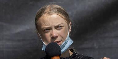 Greta nimmt Boris Johnson aufs Korn