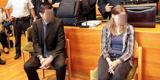 Toter auf Parkplatz: Freund & Witwe vor Gericht