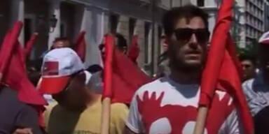 Athen: Generalstreik wegen Stellenabbau