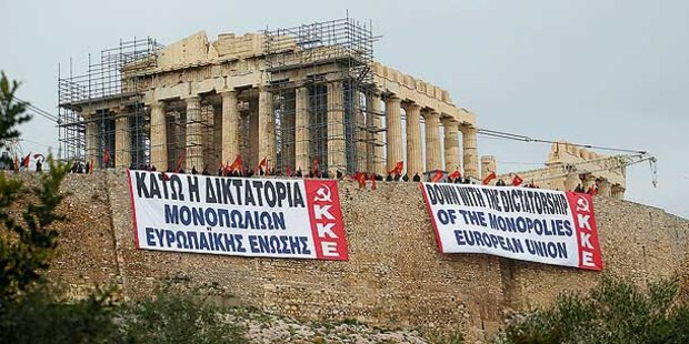 Der Krieg um Griechenland