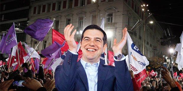 Griechen: Blitz-Regierung nach Sieg