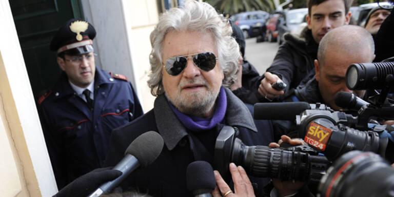 Grillo droht mit Rückzug aus Politik