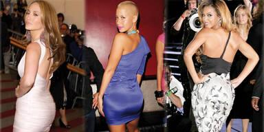 Großer Po - JLo, Beyoncé oder Amber Rose