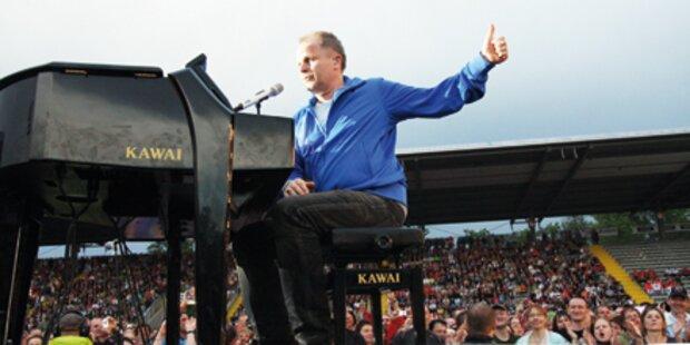 Er rockt für 90.000 Fans in Österreich!