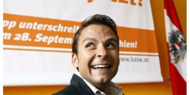 Grosz als steirischer BZÖ-Chef wiedergewählt