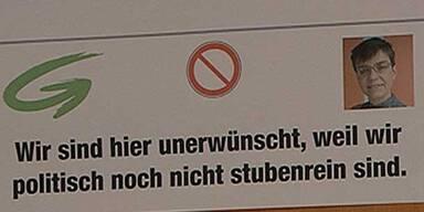 """Eklat: FPÖ hält Grüne für """"nicht stubenrein"""""""