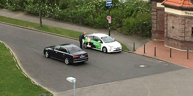 Grüne wechselt für Wahlkampf-Auftritt aus Audi A8 in Hybrid