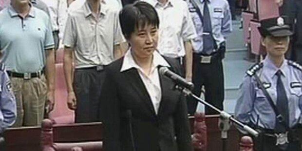 Todesurteil gegen Politiker-Gattin Gu Kailai