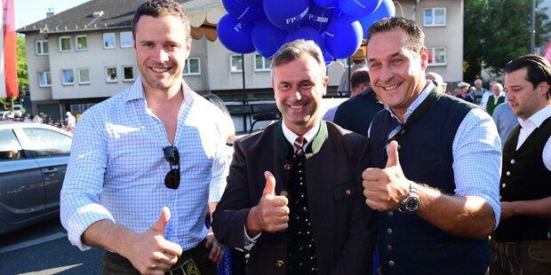FPÖ feiert Fest im Rathaus