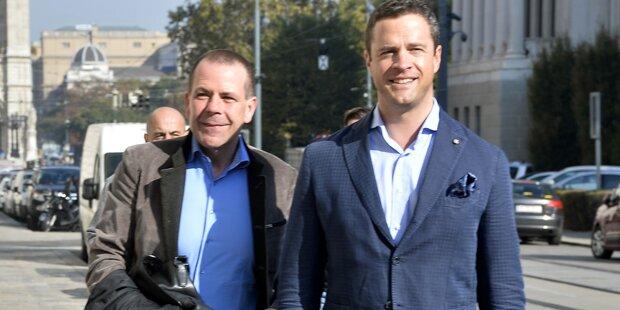 FPÖ: Gudenus nimmt Mandat nicht an