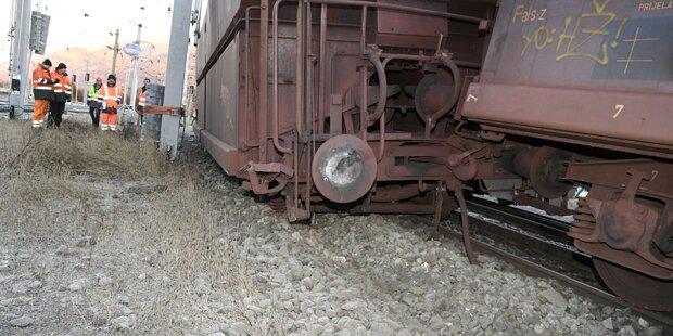 Zug in Kärnten entgleist: Tauernstrecke gesperrt