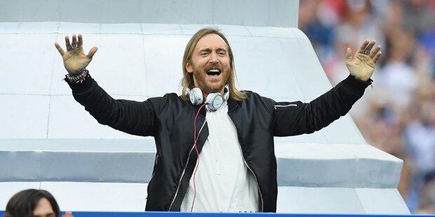 DJ Guetta lässt ganz Wien tanzen