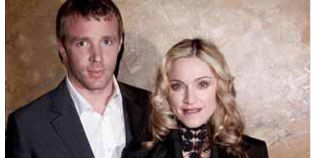 Madonna und Guy wollen Ehegelübde erneuern
