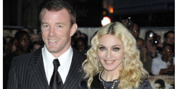 Madonna & Guy: Einigung, Scheidung am Freitag