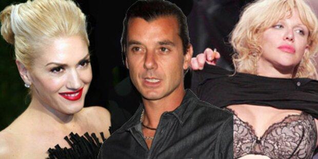 Er betrog Gwen Stefani mit Courtney Love
