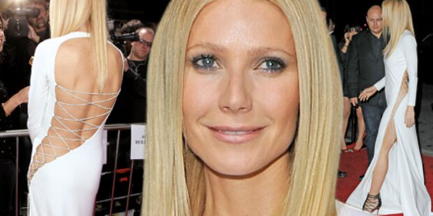 Gwyneth Paltrow ohne Unterwäsche