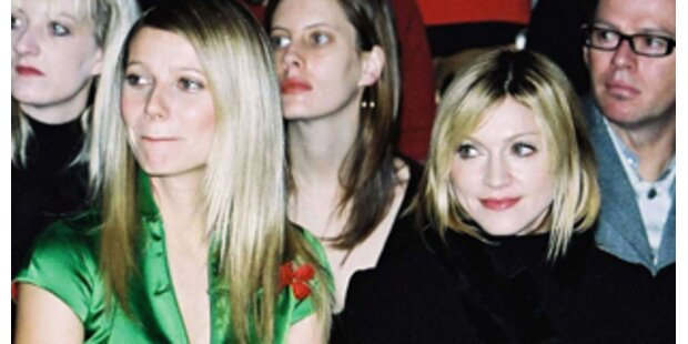 Gwyneth Paltrow hilft Madonna durch schwere Zeit