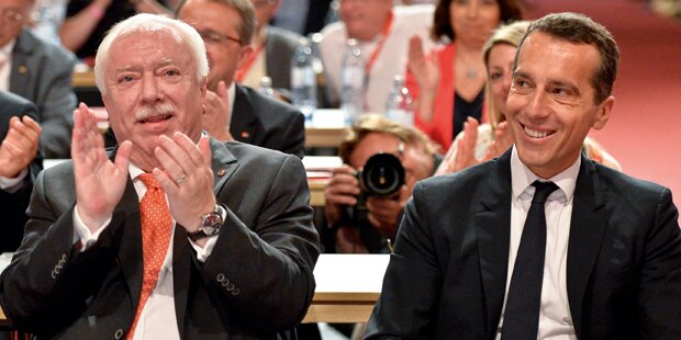 Häupl steigt jetzt für Bundes-SPÖ & Kern in Wahlkampfring