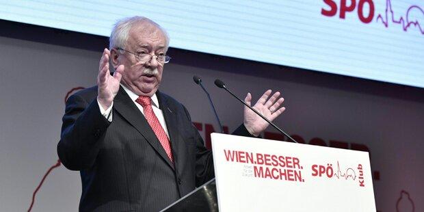 Häupl überrascht bei SPÖ-Klubklausur