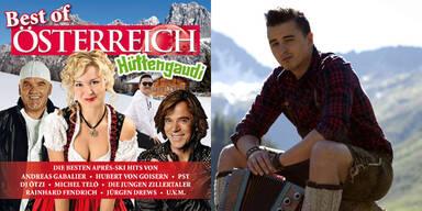 """ÖSTERREICH rockt mit """"Best of Hüttengaudi"""" Charts"""