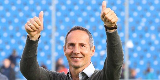 Offiziell! Hütter neuer Bullen-Coach