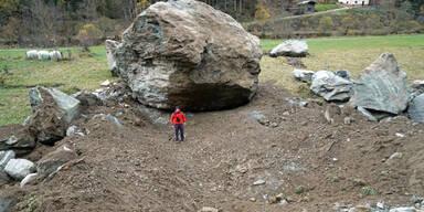 Mega-Felssturz: Brocken so groß wie Einfamilienhaus