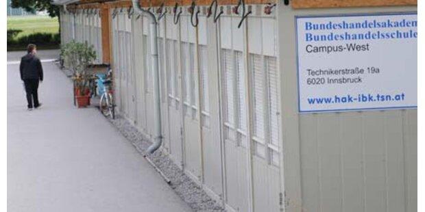 Container-Schule sorgt für Ärger