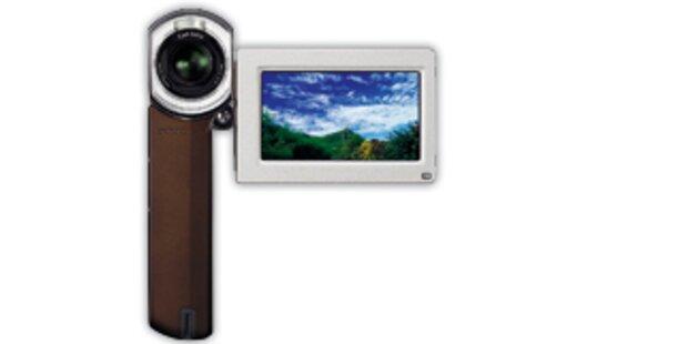 Kleinster HD-Camcorder der Welt