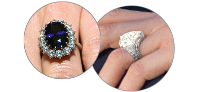Kate Middleton Ring & Charlene Wittstock Ring