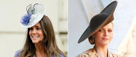 Kate Middleton Hut & Charlene Wittstock Hut