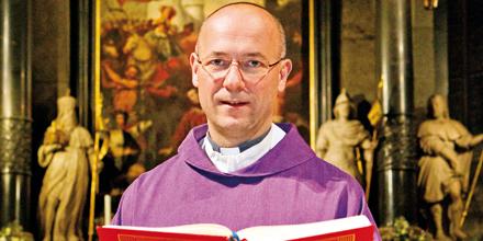 Dompfarrer St. Stephan Toni Faber