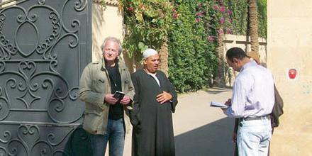 In der Nobelvilla von ElBaradei