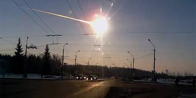 Meteorit war 7.000 Tonnen schwer