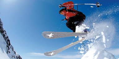Schnee Skifahrer