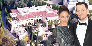 Nicole Richie & Rocker Joel Madden heiraten in Papas Villa