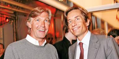 Karl-Heinz Grasser (r.) & Walter Meischberger