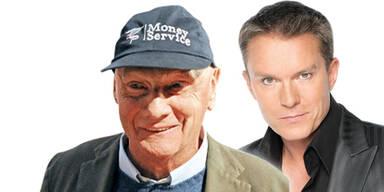 Niki Lauda & Alfons Haider
