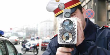 Polizeikontrolle Radar