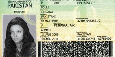 Gefälschter Pass - Internetbetrug - Leisana Folli