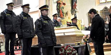 Begräbnis Polizist Andreas Hasler