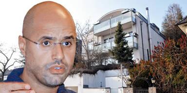 Saif al-Islam Gaddafis Villa in Wien