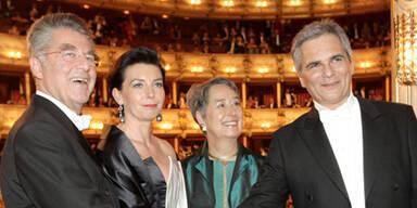 Fischer & Faymann am Opernball